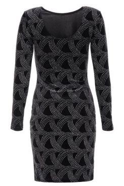 vestido-negro-ajustado-de-terciopelo-con-purpurina-00100013069