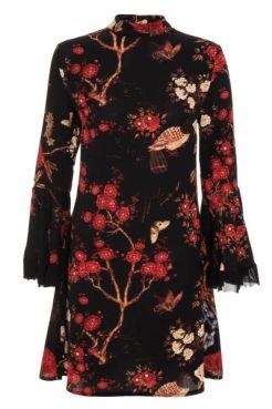 vestido-negro-con-estampado-oriental-y-cuello-alto-00100013191